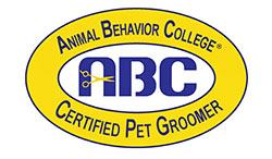 Certified Pet Groomer from Animal Behavior College