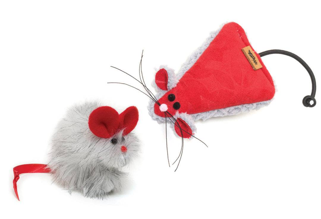 West Paw Design Holiday Field Mouse